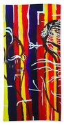 Temptation Of Jesus Beach Towel