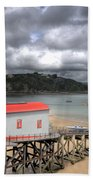 Tenby Lifeboat House Beach Towel