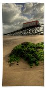 Tenby Lifeboat Ramps Beach Towel