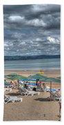 Tenby North Beach 3 Beach Towel