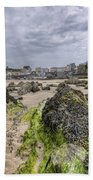 Tenby Rocks 2 Beach Towel