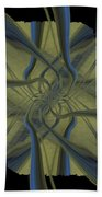 Tendrils Beach Towel
