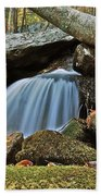 Tennessee Waterfall 5962 Beach Towel