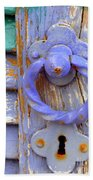Terrace Door Beach Towel