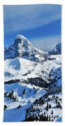 Teton Winter Beach Towel