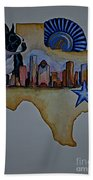 Texas Bound 3 Beach Towel