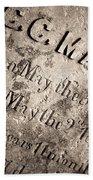 Tcm - C.c. Mason Grave Beach Towel