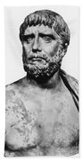 Thales, Ancient Greek Philosopher Beach Towel by Science Source