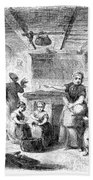 Thanksgiving, 1855 Beach Towel