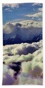 The Alaska Range Beach Towel