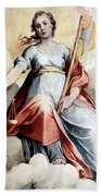 The Angel Of Justice Beach Towel