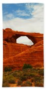 The Arches Of Utah Beach Towel