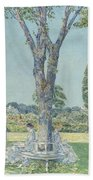 The Audition Beach Towel by Childe Hassam