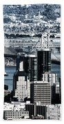 The Bay Bridge Beach Towel