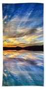 The Beauty Before The Darkness Beach Towel