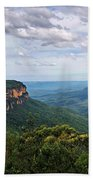 The Blue Mountains - Panoramic View Beach Towel