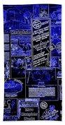 The Blues In Memphis Beach Towel by Carol Groenen