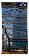 The Bridge In Nashville Beach Towel