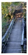 The Bridge Path Beach Towel