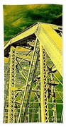 The Bridge To The Skies Beach Towel