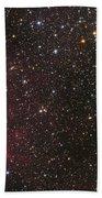 The Bubble Nebula Beach Towel