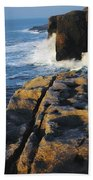 The Burren, Co Clare, Ireland Beach Towel