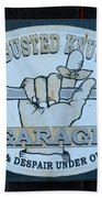 The Busted Knuckle Beach Towel