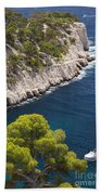 The Calanques Beach Towel