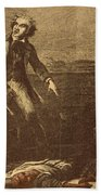 The Capture Of Margaret Garner Beach Towel by Photo Researchers