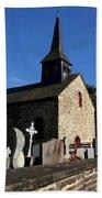 The Church Of Sainte-onenne Beach Towel