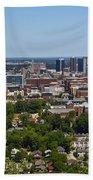 The City Of Birmingham Alabama Usa Vertical Beach Towel