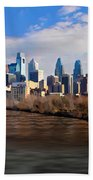 The City Of Brotherly Love Beach Towel
