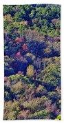 The Colors Of Autumn Beach Towel by Douglas Barnard