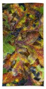 The Colors Of Autumn  Beach Towel