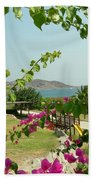 The Colors Of Paros Beach Towel