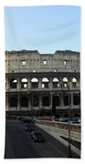 The Colosseum In Rome Beach Towel