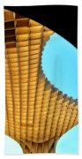 The Curves Of The Metropol Parasol Beach Towel