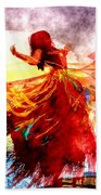 The Dancer Beach Towel