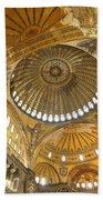 The Dome Of Hagia Sophia Beach Towel