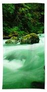 The Dosewallups River  Beach Towel