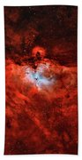 The Eagle Nebula In The Constellation Beach Towel