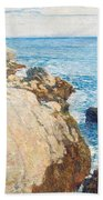 The East Headland Beach Towel by Childe Hassam