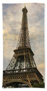 The Eiffel Tower Beach Towel by Laurie Search