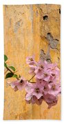 The Escaping Bougainvillea Beach Towel