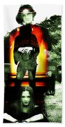 The Evil Within Beach Towel