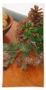 The Fragrance Of Christmas  Beach Towel