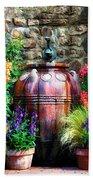The Garden Cistern Beach Towel