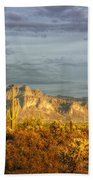 The Golden Glow II Beach Towel