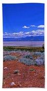 The Great Salt Lake From Antelope Island Beach Towel