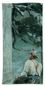 The Guide Beach Towel by Winslow Homer